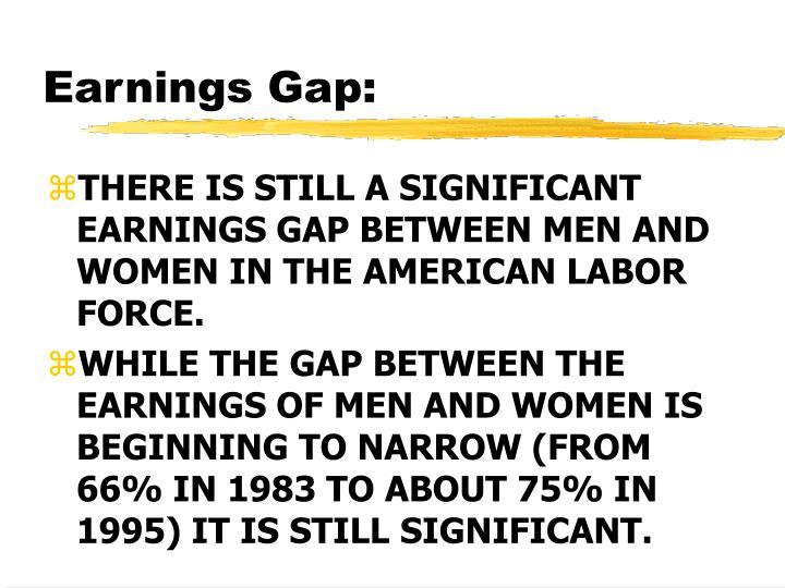 Earnings Gap: