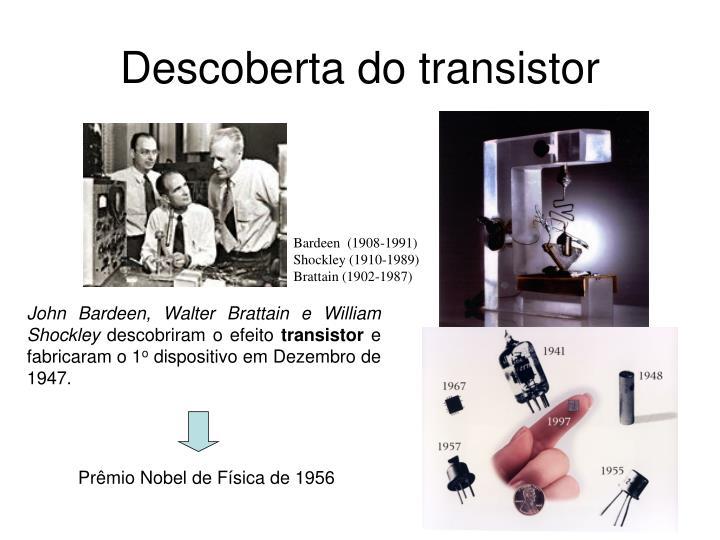Descoberta do transistor