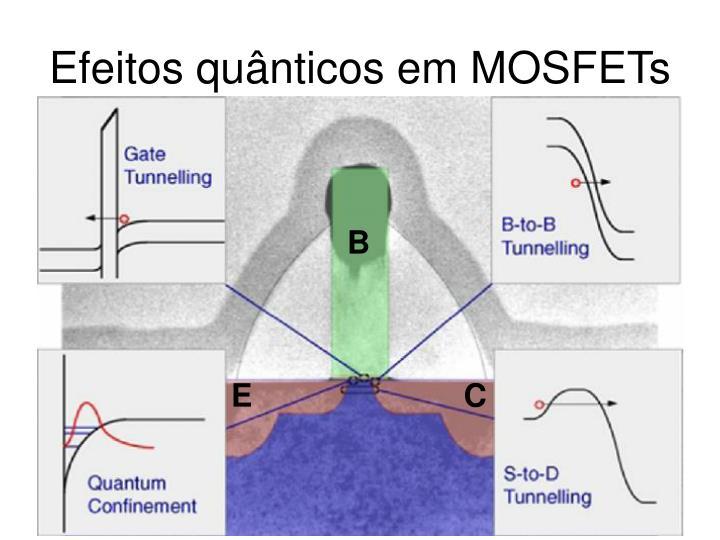 Efeitos quânticos em MOSFETs