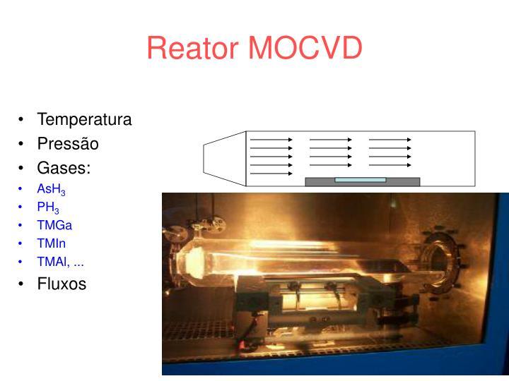Reator MOCVD