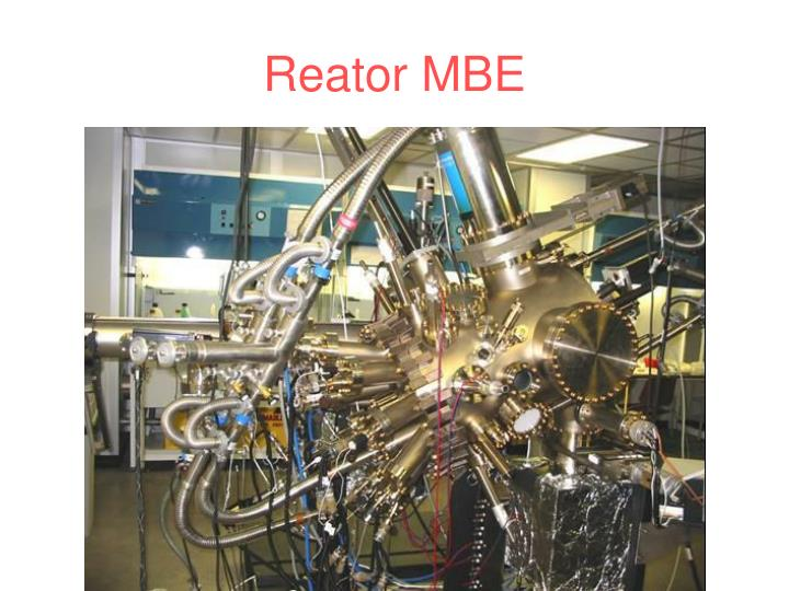 Reator MBE