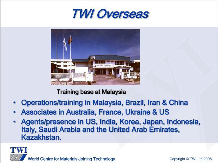 TWI Overseas