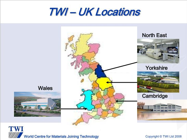 TWI – UK Locations