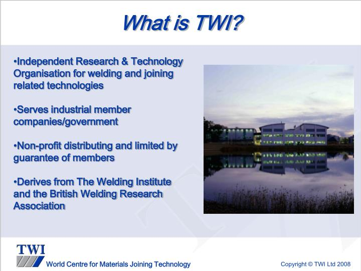 What is TWI?