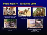 photo gallery elections 2009