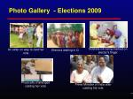 photo gallery elections 20091