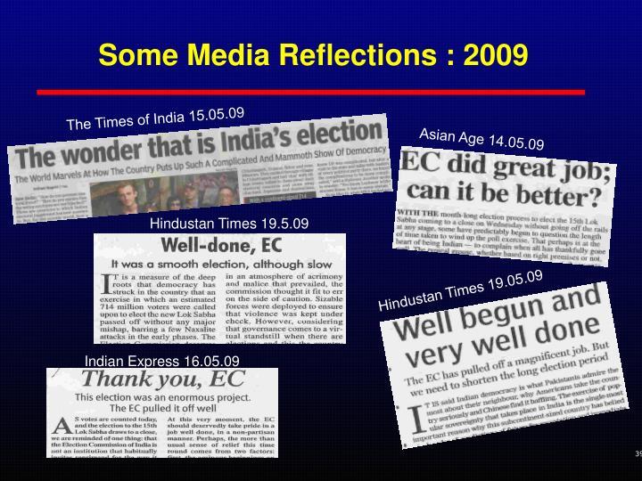 Indian Express 16.05.09