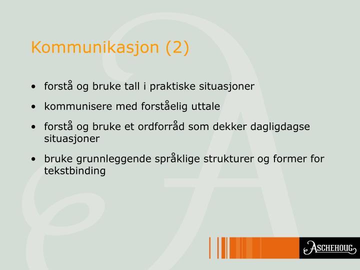 Kommunikasjon (2)