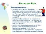 futuro del plan
