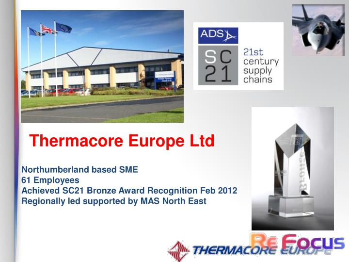 Thermacore Europe Ltd
