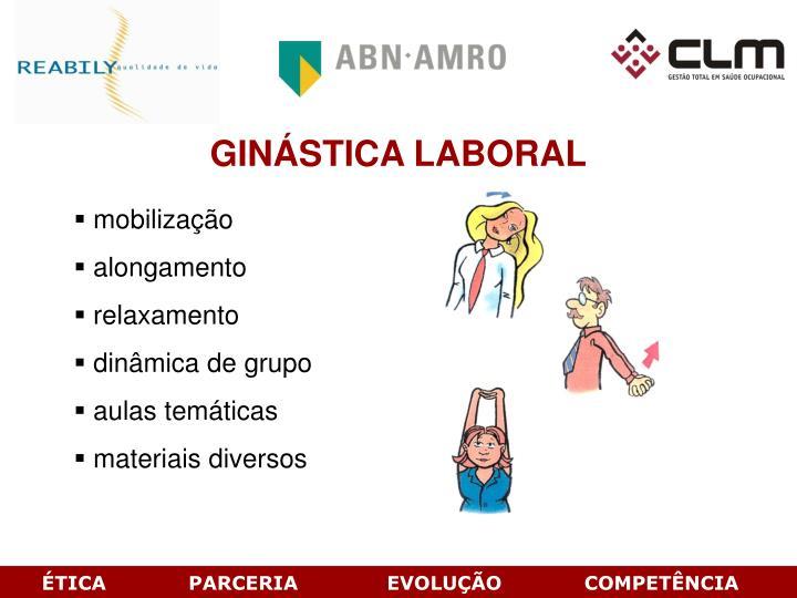 GINSTICA LABORAL