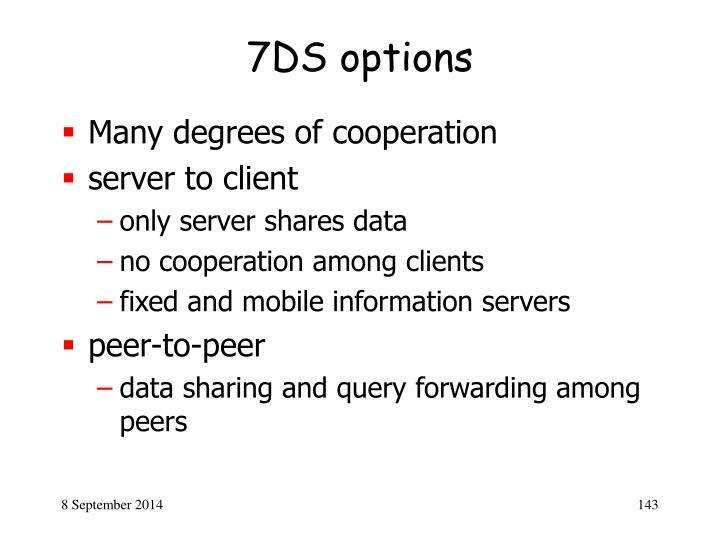 7DS options