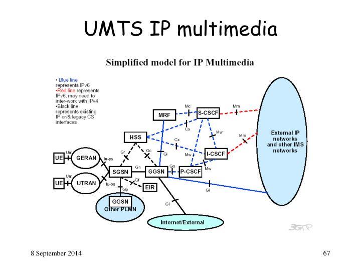 UMTS IP multimedia
