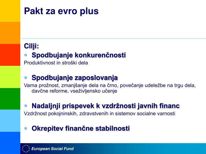 Pakt za evro plus