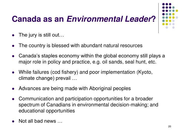 Canada as an