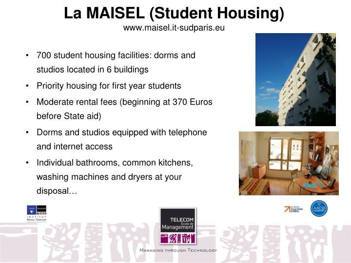 La MAISEL (Student Housing)