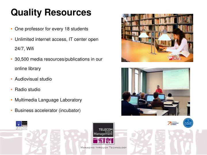 Quality Resources