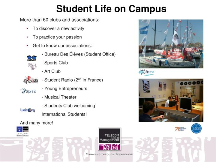 Student Life on Campus