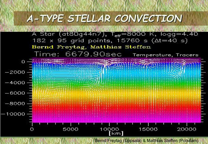 A-TYPE STELLAR CONVECTION