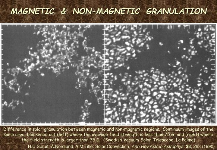MAGNETIC  &  NON-MAGNETIC  GRANULATION