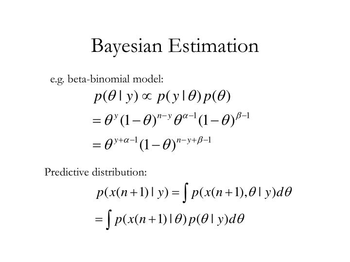 Bayesian Estimation