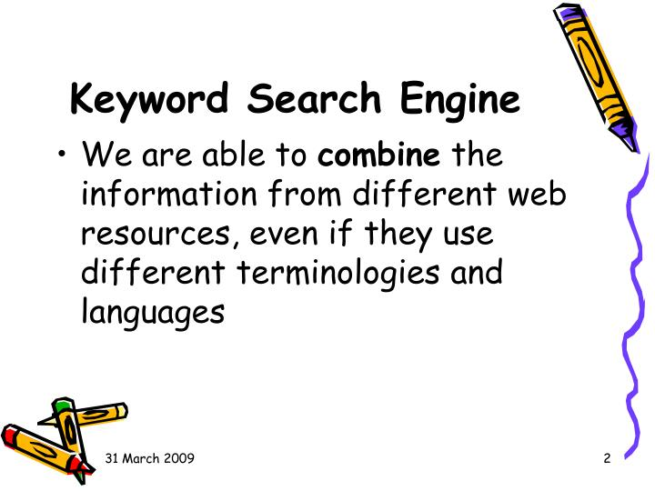 Keyword Search Engine