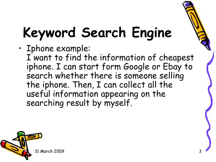 Keyword search engine1