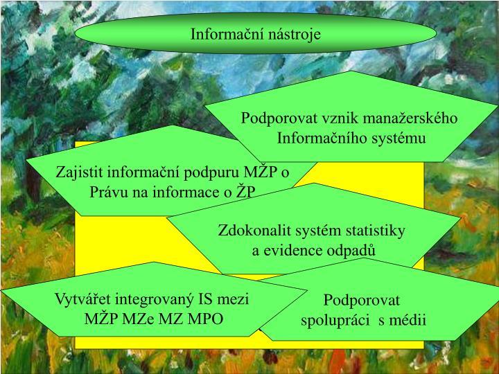 Informační nástroje