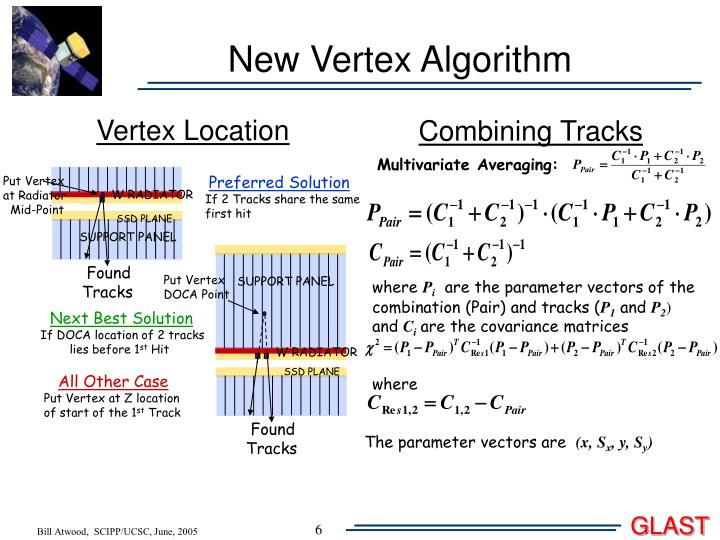 New Vertex Algorithm