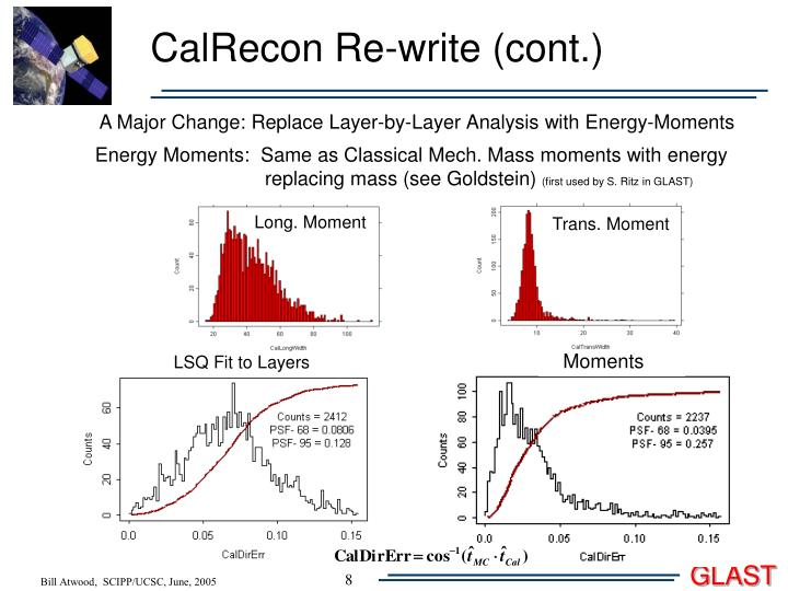 CalRecon Re-write (cont.)