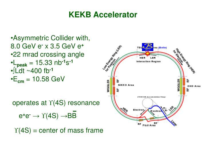 KEKB Accelerator