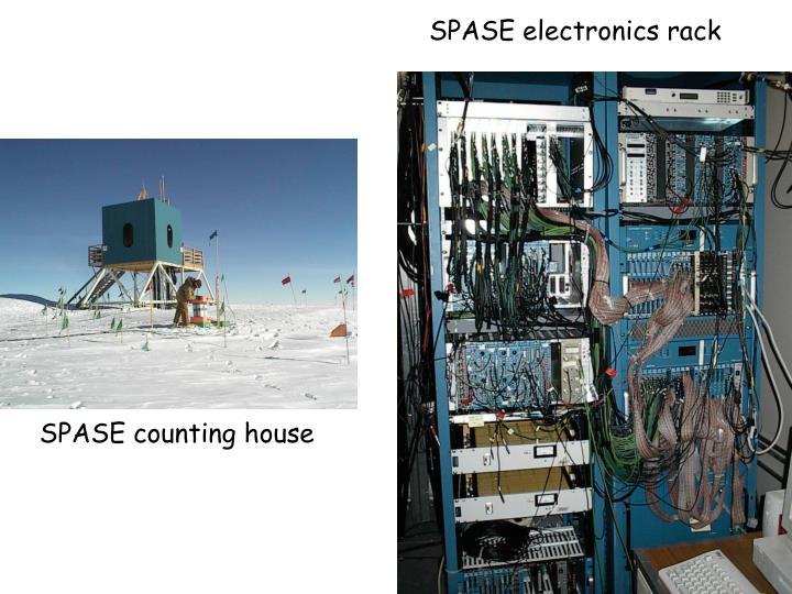 SPASE electronics rack