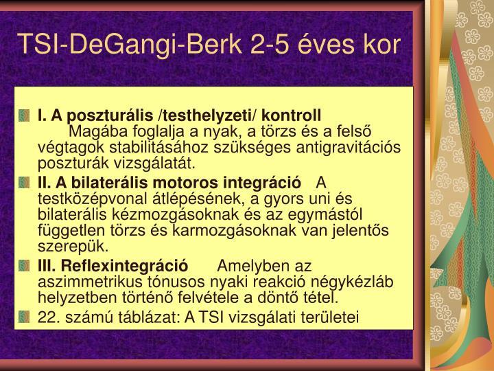 TSI-DeGangi-Berk 2-5 ves kor