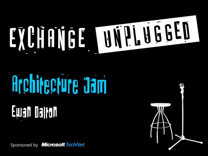 Architecture Jam