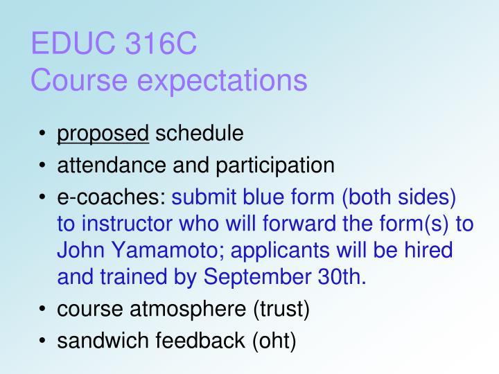 EDUC 316C