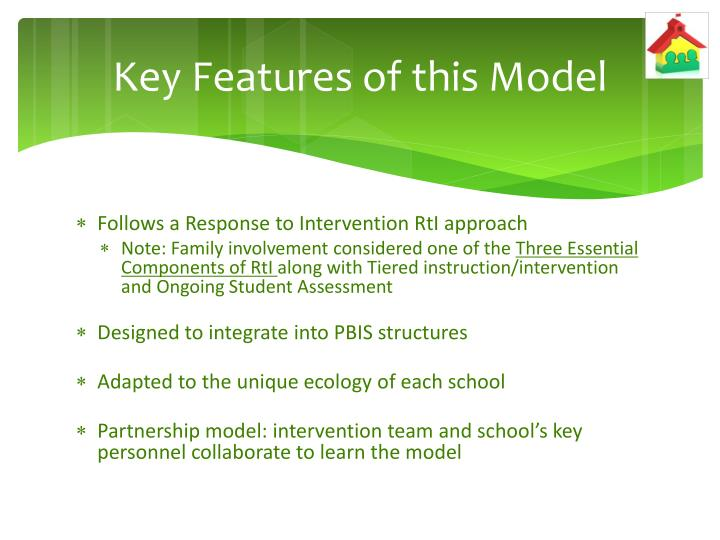 Key Features of this Model