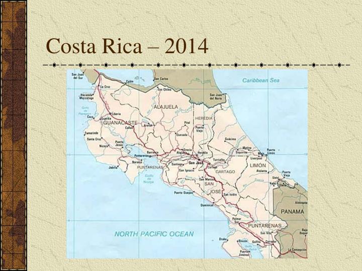 Costa Rica – 2014