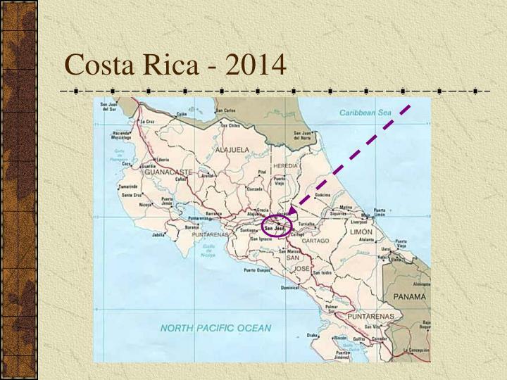 Costa Rica - 2014