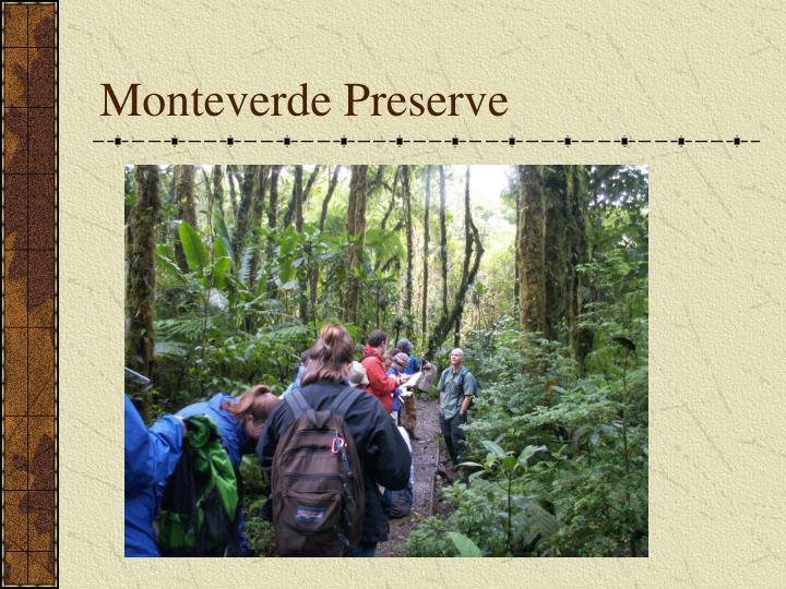Monteverde Preserve