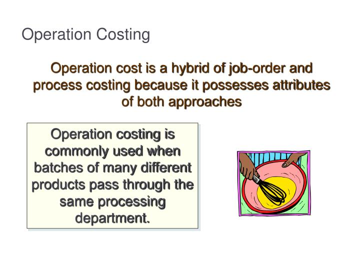 Operation Costing