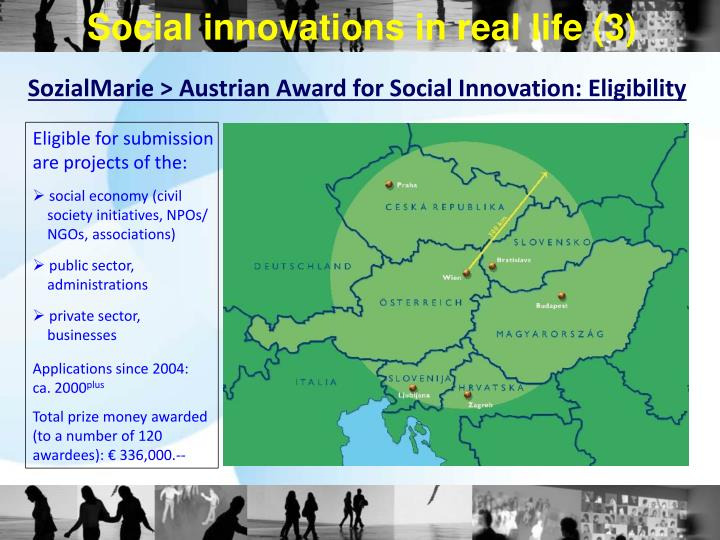Social innovations in real life (3)