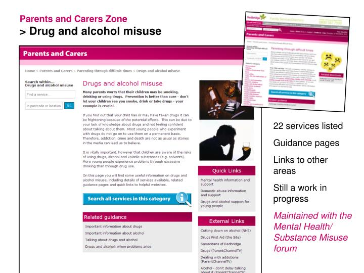 Parents and Carers Zone