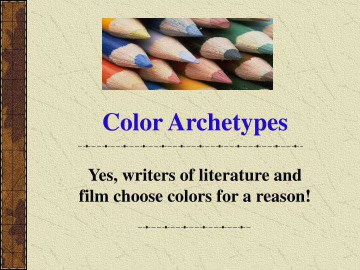 Color Archetypes