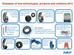 examples of new technologies products and solutions 2013