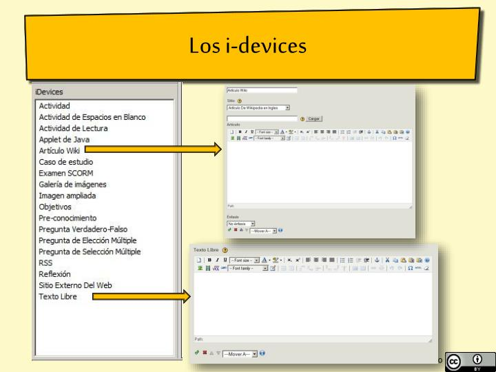 Los i-devices