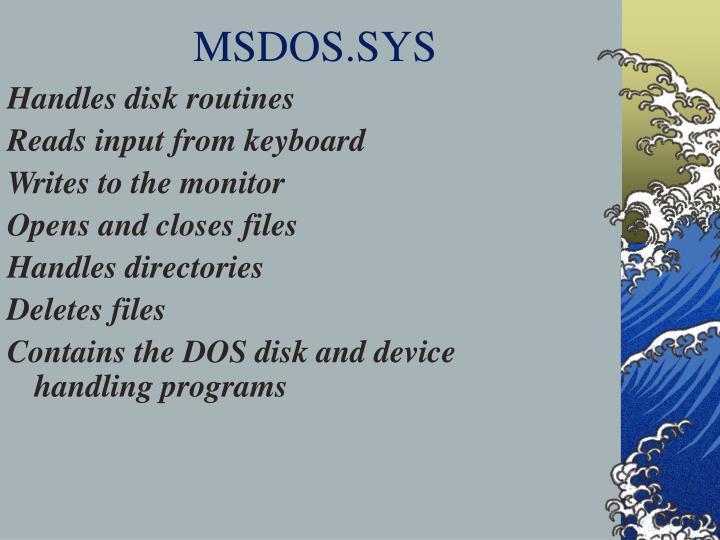 MSDOS.SYS
