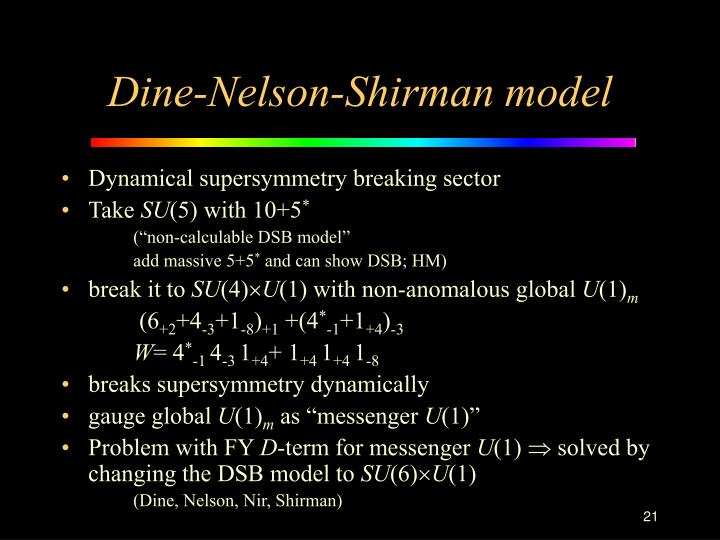 Dynamical supersymmetry breaking sector