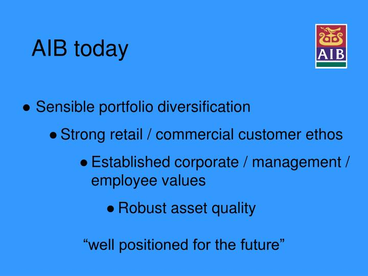 AIB today