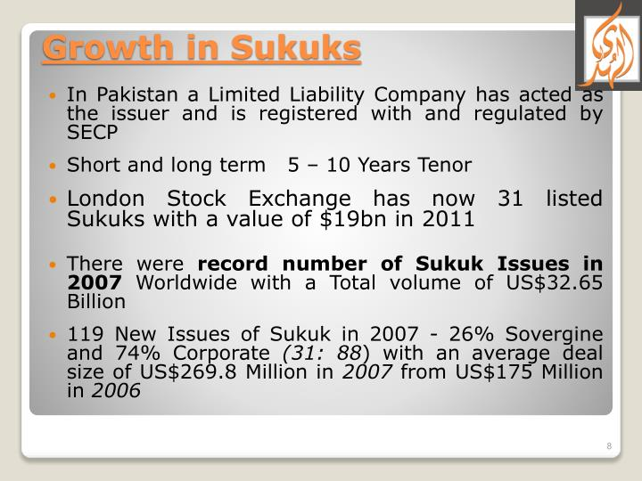 In Pakistan a Limited Liability Company has acted as the issuer and is registered with and regulated by SECP