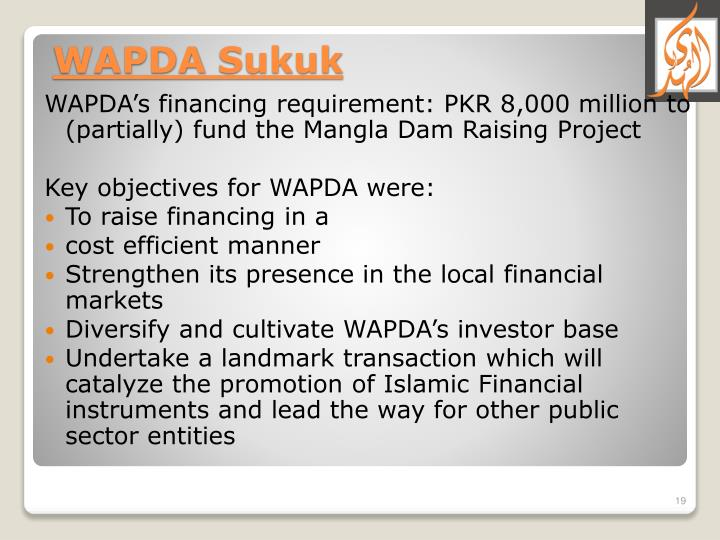WAPDA's financing requirement: PKR 8,000 million to (partially) fund the Mangla Dam Raising Project